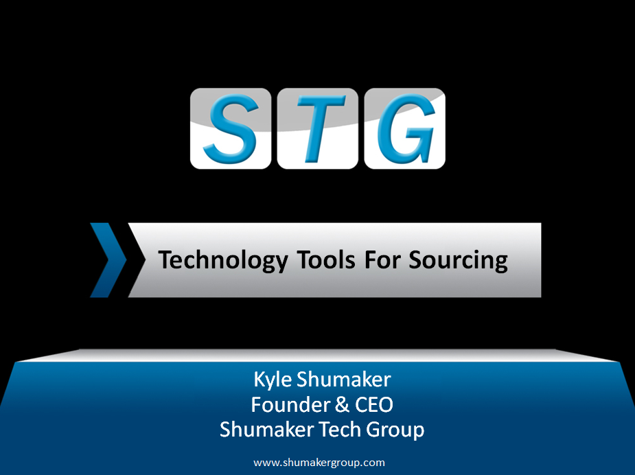 TechnologyToolsForSourcing